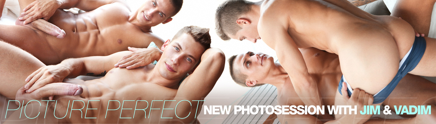 Picture Perfect: New photosession with Jim & Vadim