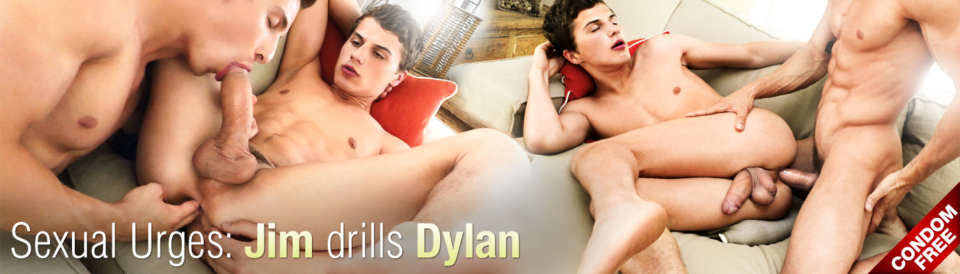 Sexual Urges: Jim drills Dylan
