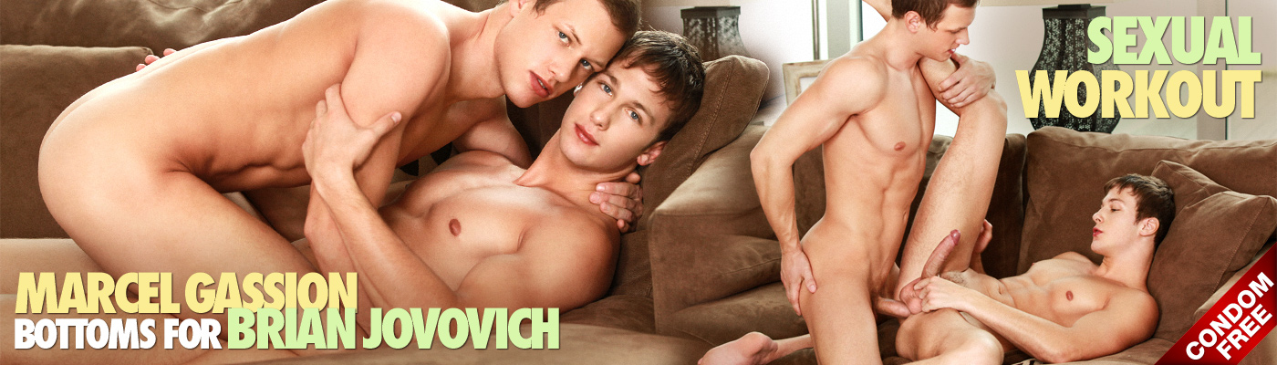 Sexual Workout: Marcel Gassion bottoms for Brian Jovovich