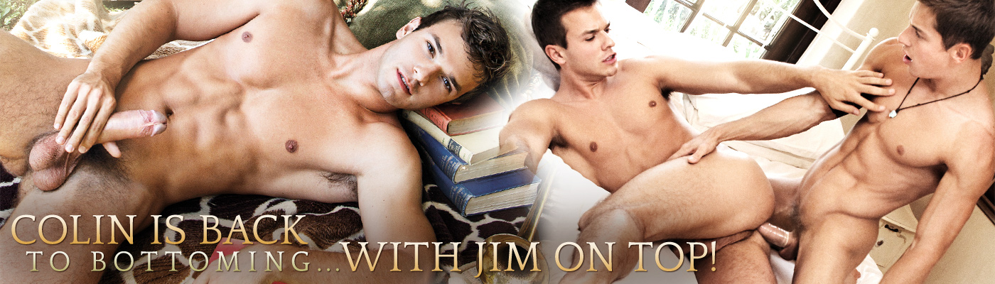 Colin is back to bottoming... With Jim on top!