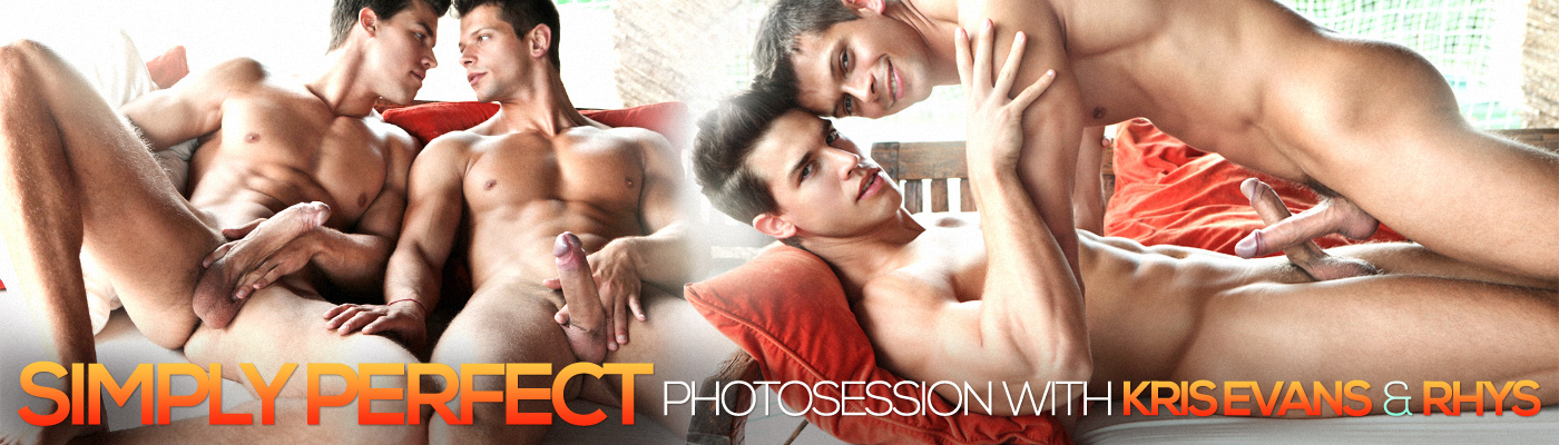 Simply Perfect photosession with Kris Evans and Rhys
