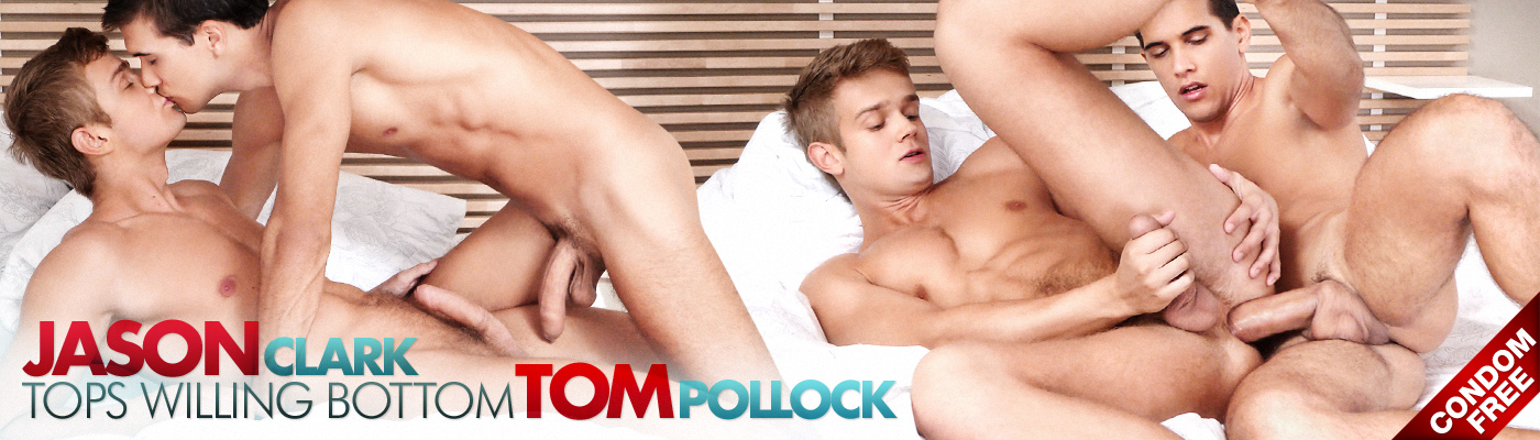 Jason Clark tops  willing bottom Tom Pollock