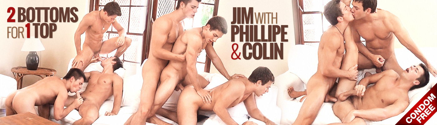 2 Bottoms for 1 top… Jim tries out Phillipe & Colin
