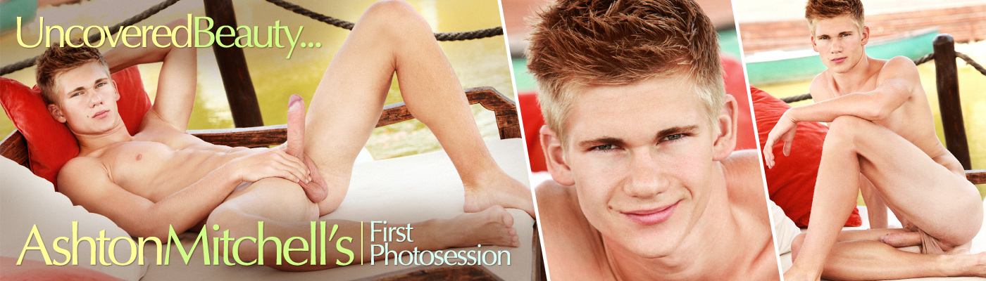 Uncovered beauty... Ashton Mitchell's first Photosession