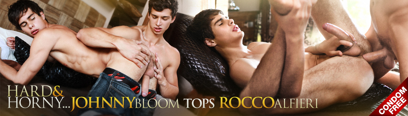 HARD AND HORNY…  Johnny Bloom tops Rocco Alfieri