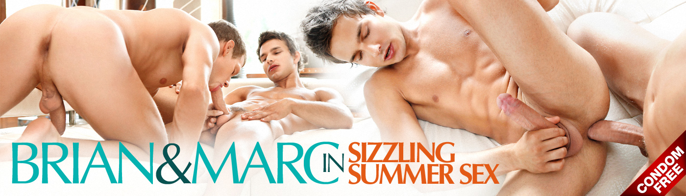 BRIAN & MARC IN SIZZLING SUMMER SEX