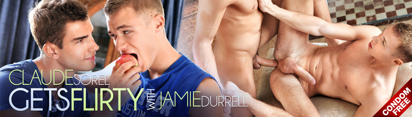 Claude Sorel GETS FLIRTY with Jamie Durrell