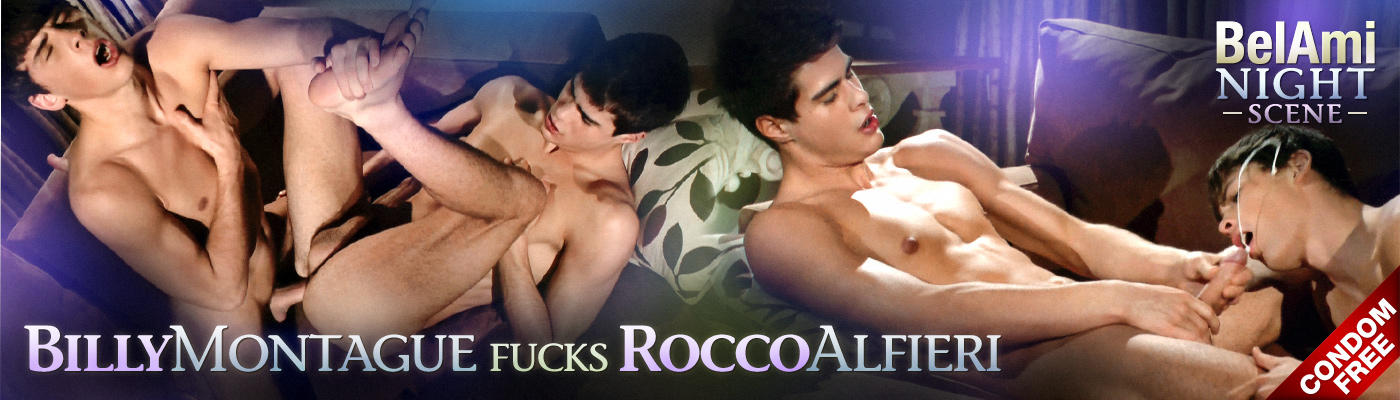 BELAMI NIGHT SCENE Billy Montague fucks Rocco Alfieri