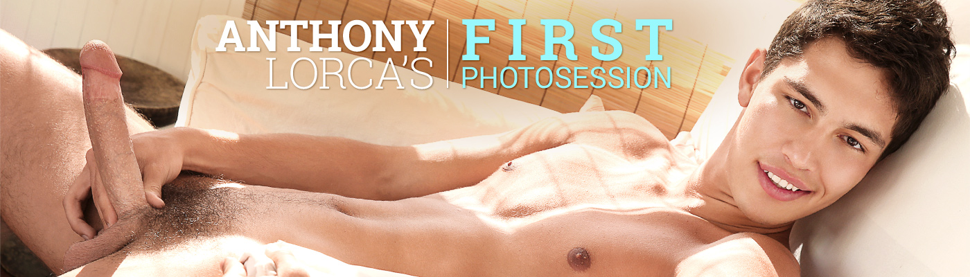 Anthony Lorca's First Photosession