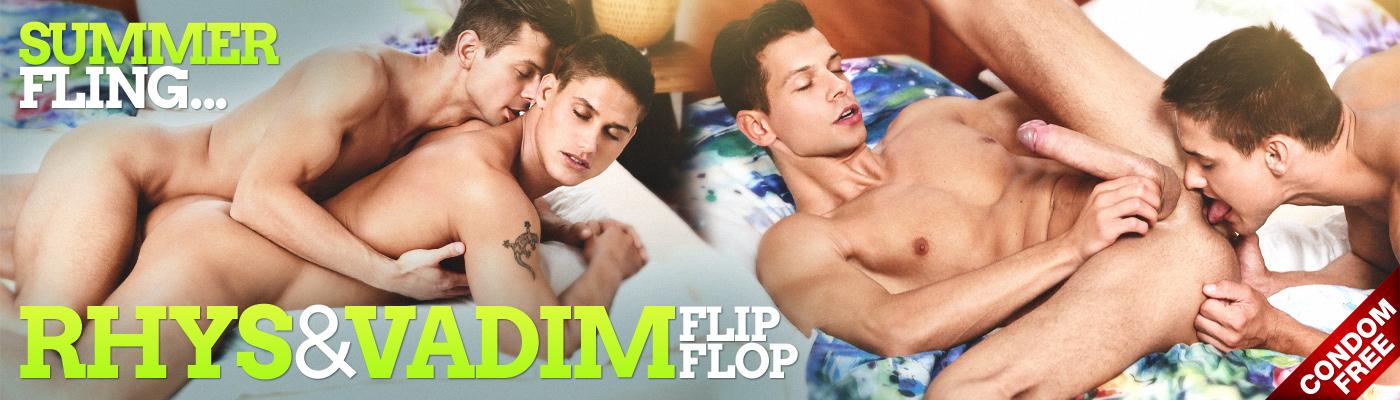 SUMMER FLING… RHYS & VADIM FLIP-FLOP